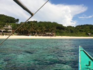 Поездка по островам (Island hopping via banka)
