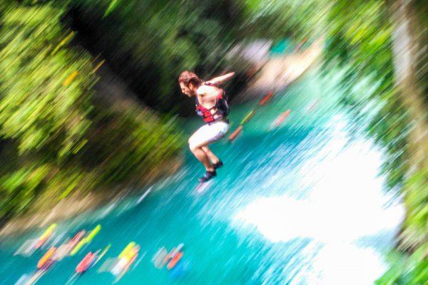Каньонинг на водопадах Кавасан